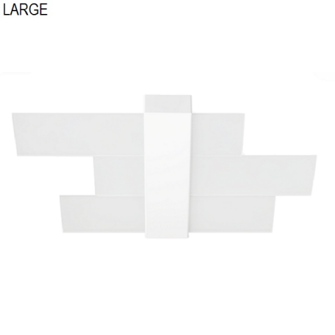 Ceiling light 88cm 3xE27 max 57W white