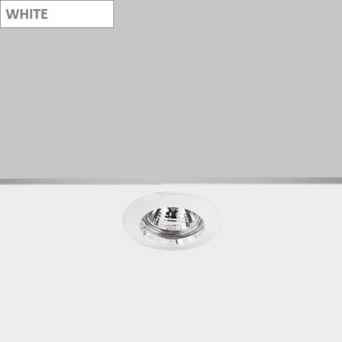 Фиксирана луна DECO GU5.3 бяла
