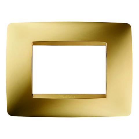 Рамка ONE 3 модула Gold