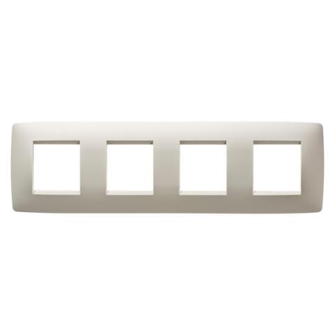 Рамка ONE International 2+2+2+2 хоризонтална - Ivory