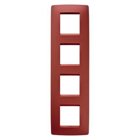 Рамка ONE International 2+2+2+2 вертикална - Ruby