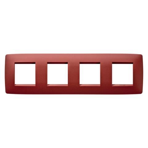 Рамка ONE International 2+2+2+2 хоризонтална - Ruby
