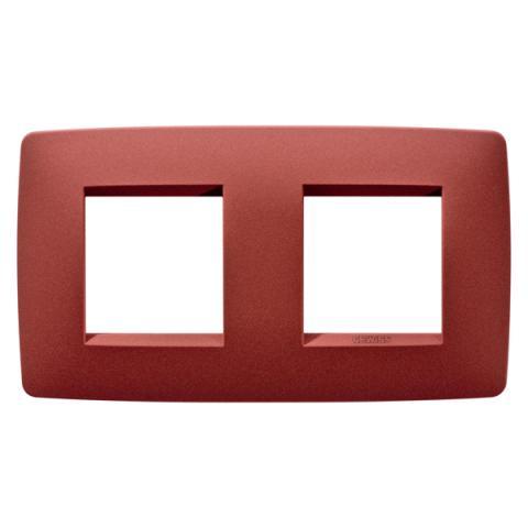 Рамка ONE International 2+2 хоризонтална - Ruby