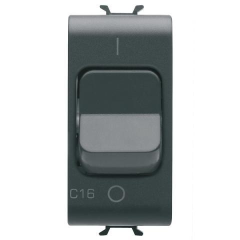Миниатюрен автоматичен прекъсвач 1P 16A 3kA 230V AC