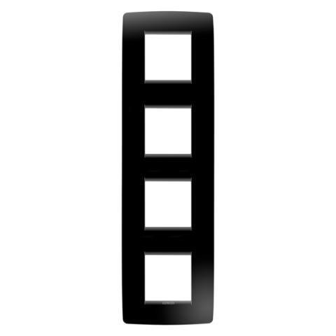 Рамка ONE International 2+2+2+2 вертикална - Toner Black