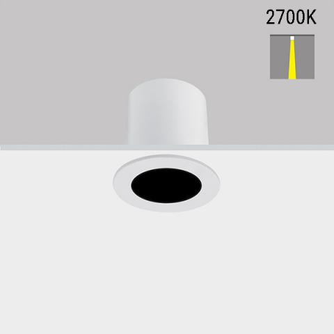 Downlight Perfetto-in 40 LED 2700K 14° IP43