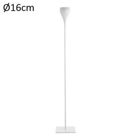 Floor Lamp H189cm Ø16cm White