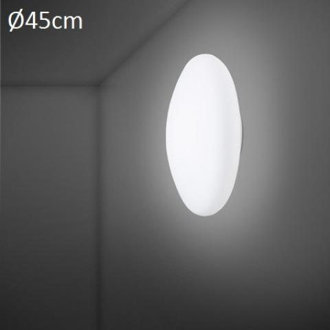 Wall/ceiling lamp Ø45cm E27 White