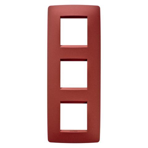 Рамка ONE International 2+2+2 вертикална - Ruby