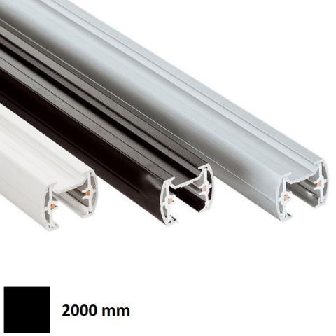 Single-phase track MM 2m - black