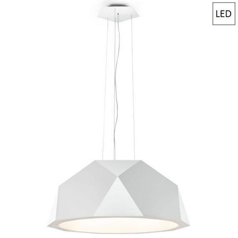Пендел Ø115cm бял LED