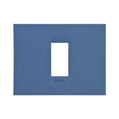 GEO plate 1 gang - Sea Blue