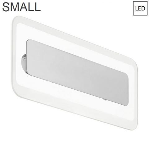 Аплик 314x135mm LED хром - прозрачен