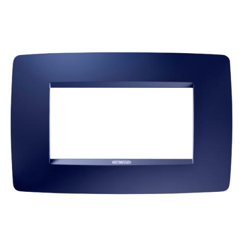 Рамка ONE 4 модула Topaz Blue
