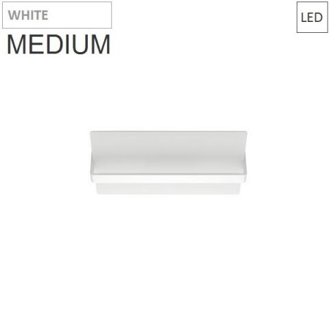 Wall/ceiling lamp 450X200mm 20W 3000K LED white