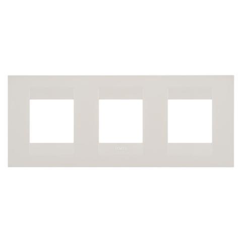 Рамка GEO International 2+2+2 хоризонтална - Ivory