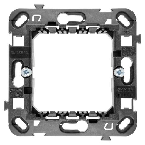 2 gang frame support International - with long fixing screws