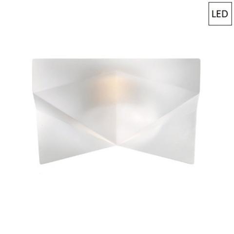 Луна 12x12cm LED бяла