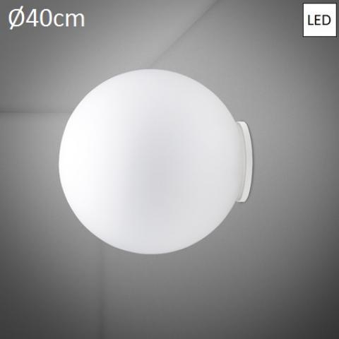 Wall/ceiling lamp Ø40cm LED White