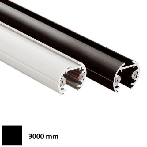 Low-voltage track ELV 3m black
