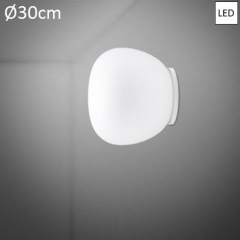 Плафон Ø30cm LED бял