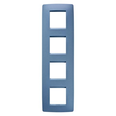 Рамка ONE International 2+2+2+2 вертикална - Sea Blue