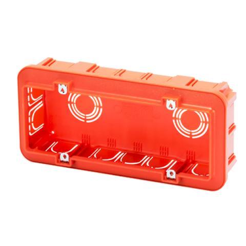 Инсталационна кутия 6 модула за мазилка