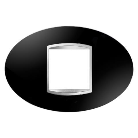 ART 2-gang plate - Toner Black