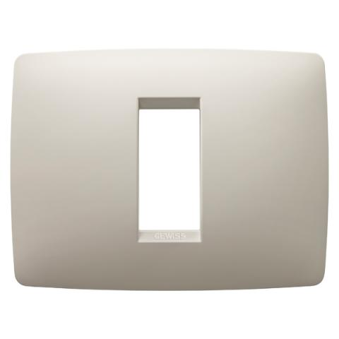 1-gang plate Ivory