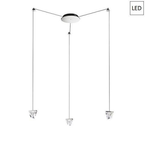 Пендел 3x4.3W LED алуминий