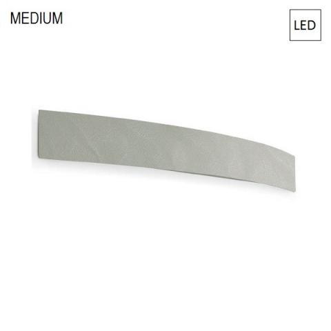 Аплик 63cm LED 30W IP40 бетоново сив