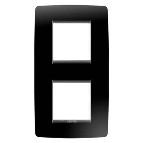 Рамка ONE International 2+2 вертикална - Toner Black