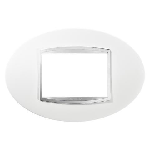 Рамка ART 3 модула - Milk White