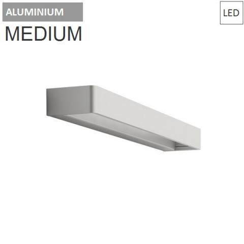 Аплик 45cm 20W 3000K LED бял/алуминий