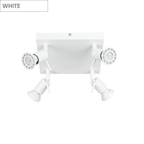 Ceiling lamp 4xGU10 white