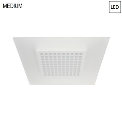 Ceiling light 45/45 LED 23W IP40 white