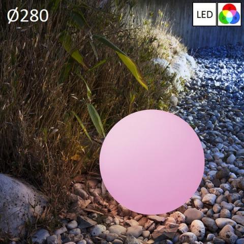 Garden floor lamp Ø280 LED RGB IP65