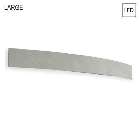 Аплик 93cm LED 35W IP40 бетоново сив