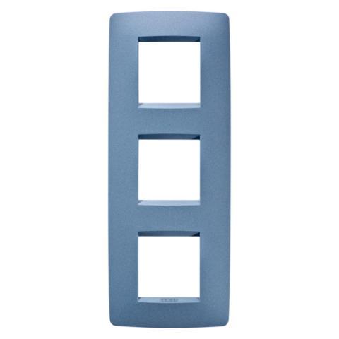 Рамка ONE International 2+2+2 вертикална - Sea Blue