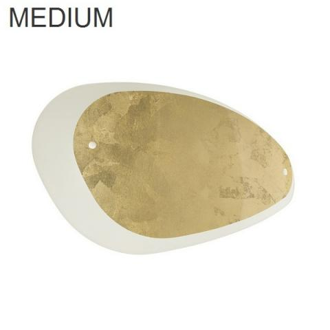 Wall/Ceiling lamp 432X264 2xE27 IP20 white/gold