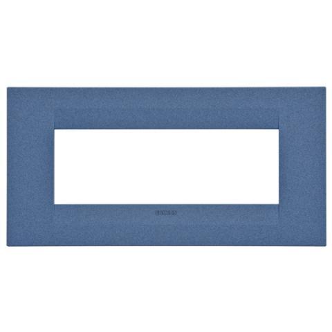GEO plate 6 gang - Sea Blue