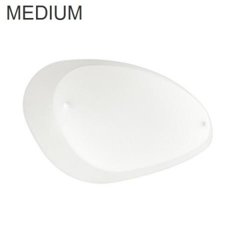 Wall/Ceiling lamp 432X264 2xE27 IP20 white