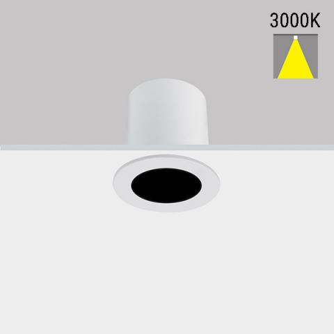 Downlight Perfetto-in 40 LED 4.5W 3000K 60° IP43