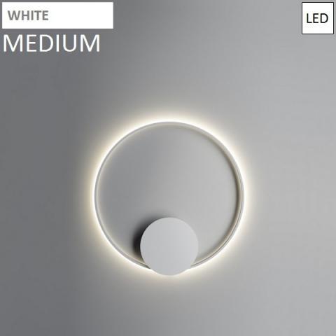 Wall/ceiling lamp Ø80cm LED White