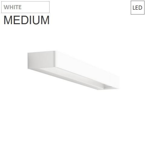 Аплик 45cm 20W 3000K LED бял