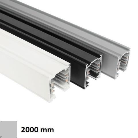 Dimmable Track DKM 2m silver