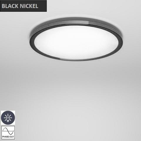 Ceiling Light Ø668mm LED black nickel