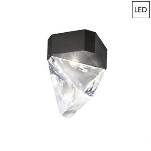 Плафон LED антрацит