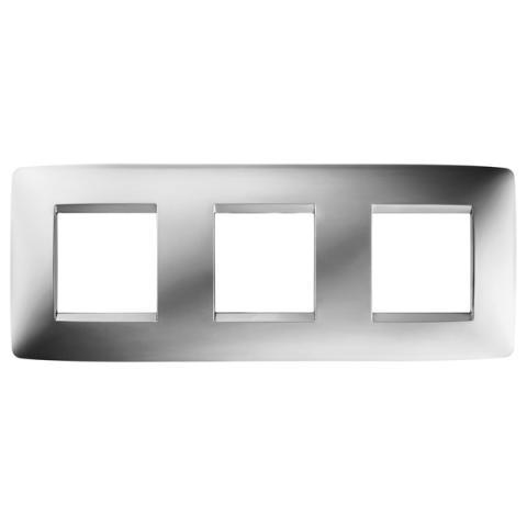 Рамка ONE International 2+2+2 хоризонтална - Chrome
