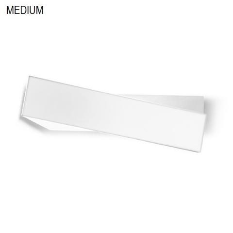Аплик 43cm бял